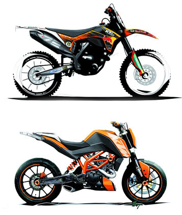 stra en motorrad 125 ccm ktm motorrad bild idee. Black Bedroom Furniture Sets. Home Design Ideas